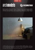 مدل های دیوارهای تزیینی با کیفیت بالا و همراه با تکسچر و متریالEvermotion Archmodel Vol 147