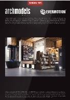 مدل های آماده انواع وسایل برای شبیه سازی فروشگاهای بسیار زیبا همراه با تکسچرEvermotion Archmodel Vol 161