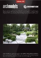 مدل های آماده عناصر پرچین و گیاهان با کیفیت بالاEvermotion Archmodel Vol 192