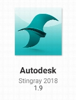 Autodesk Stingray 2018 version 1.9