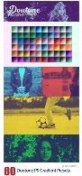 60 گرادینت دورنگی برای فتوشاپ60 Duotone Photoshop Gradient Presets