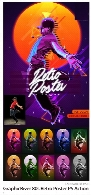 GraphicRiver 80s Retro Poster Photoshop Action