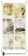 Illustrations Of Paradise In The Clouds