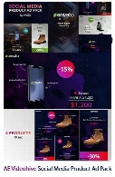 Videohive Social Media Product Ad Pack AE Templates