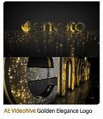 پروژه آماده افترافکت نمایش لوگو با افکت طلایی درخشان به همراه آموزش ویدئویی از ویدئوهایوVideohive Golden Elegance Logo After Effects Templates