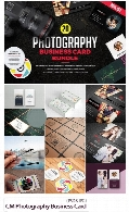 CreativeMarket Photography Business Card Bundle