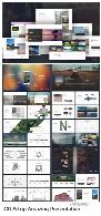 قالب آماده تجاری پاورپوینت از گرافیک ریورGraphicriver Artrip Amazing Presentation