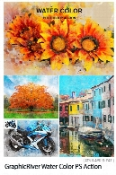 GraphicRiver Water Color Photoshop Action