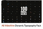 Videohive Dynamic Typography Pack After Effects Templates