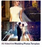 پروژه آماده افترافکت اسلایدشو آلبوم عروسی از ویدئوهایوVideohive Wedding Photos After Effects Templates