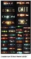 Graphicriver 50 Text Effects Bundle