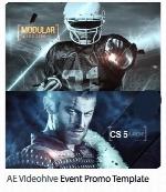 پکیج ساخت تریلرهای ورزشی و اکشن در افترافکت از ویدئوهایوVideohive Event Promo After Effects Templates