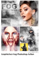 Graphicriver Fog Photoshop Action