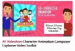 کاراکترهای آماده موشن گرافیک و انیمشن سازی در افترافکت به همراه آموزش ویدئویی از ویدئوهایوVideohive Character Animation Composer Explainer Video Toolkit After Effe