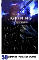 50 Lightning Photoshop Brushes