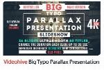 متن متحرک افترافکت برای افکت های پارالاکس همراه با آموزش ویدئویی از ویدئوهایوVideohive Big Typo Parallax Presentation