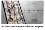 پروژه آماده افترافکت اسلایدشو تصاویر در قالب صفحه اینستاگرام از ویدئوهایوVideohive Instagram Slideshow After Effects Template