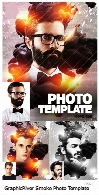 GraphicRiver Smoke Photo Template