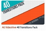Videohive 40 Transitions Pack