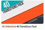 40 ترانزیشن دایره ای برای افترافکت از ویدئوهایوVideohive 40 Transitions Pack