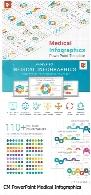 قالب آماده پاورپوینت پزشکیCreativeMarket PowerPoint Medical Infographics