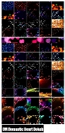 CM Romantic Heart Bokeh Photo Overlays