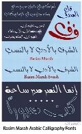 Basim Marah Arabic Free Style Calligraphy Fonts