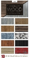 CM Seamless 3D Wood Patterns And Textures