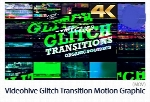 Videohive Glitch Transition 4K Motion Graphic Template