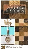 20 تکسچر با کیفیت چوبیCM 20 Wood Textures Pack