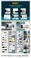 مجموعه تصاویر لایه باز بروشور و کاتالوگ مربعیCM PSD Brochure Catalogs Portfolio