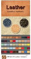 55 تکسچر با کیفیت چرمCM Set Of Leather Textures