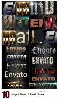 GraphicRiver 10 3D Text Styles