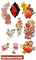 Eslimi Flowers And Birds