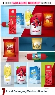 Food Packaging Mockup Bundle