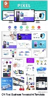 CM Pixel Business Powerpoint Template