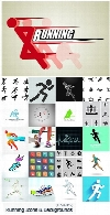 ShutterStock Running Vector Icons Symbols And Backgrounds