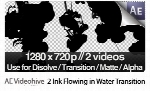 Videohive 2 Ink Flowing in Water Transition Matte Mask Motion Graphic Templates