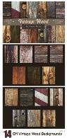 14 تکسچر چوبی قدیمیCM Vintage Wood Backgrounds
