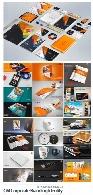 مجموعه تصاویر وکتور قالب آماده ست اداری، کارت ویزیت، بروشور، سربرگ و ...CM Corporate Branding Identity Bundle