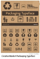 CreativeMarket Packaging Typeface