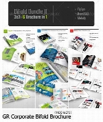 Graphicriver Corporate Bifold Brochure Bundle