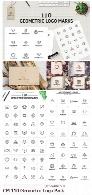 110 تصویر وکتور آرم و لوگوهای هندسیCM 110 Geometric Logo Pack