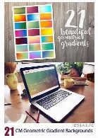 CM Geometric Gradient Backgrounds