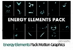 Energy Elements Pack Motion Graphics