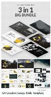 مجموعه قالب آماده تجاری پاورپوینت از گرافیک ریورGraphicriver Big Bundle Creative Googe Slide Template