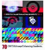 70 گرادینت هنری فتوشاپ برای طراحیCM FX And Image Enhancing Gradients