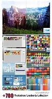 بیش از 700 گرادینت فتوشاپ برای طراحیPhotoshop Gradients Collection