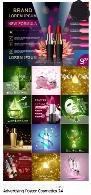 تصاویر وکتور پوسترهای تبلیغاتی لوازم آرایشیAdvertising Poster Concept Cosmetics Vector 24