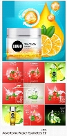 تصاویر وکتور پوسترهای تبلیغاتی لوازم آرایشیAdvertising Poster Concept Cosmetics Vector 22